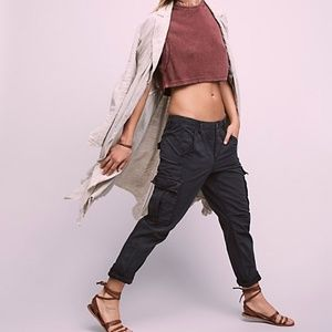 Free People Wild Nothing Rugged Cargo Pants SIZE 6